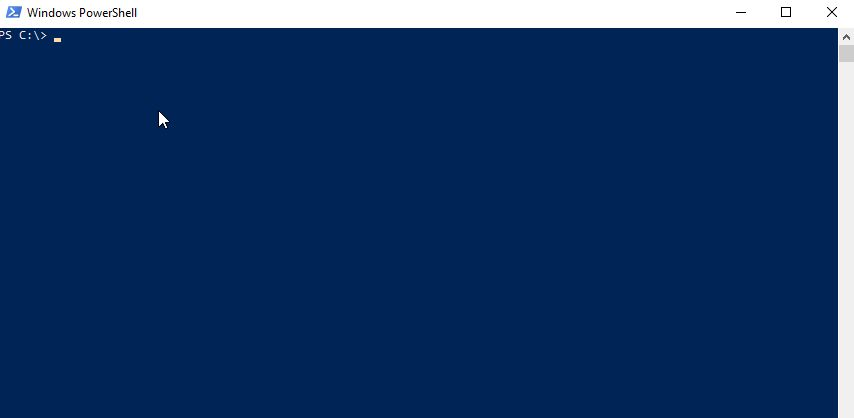 declare powershell variable