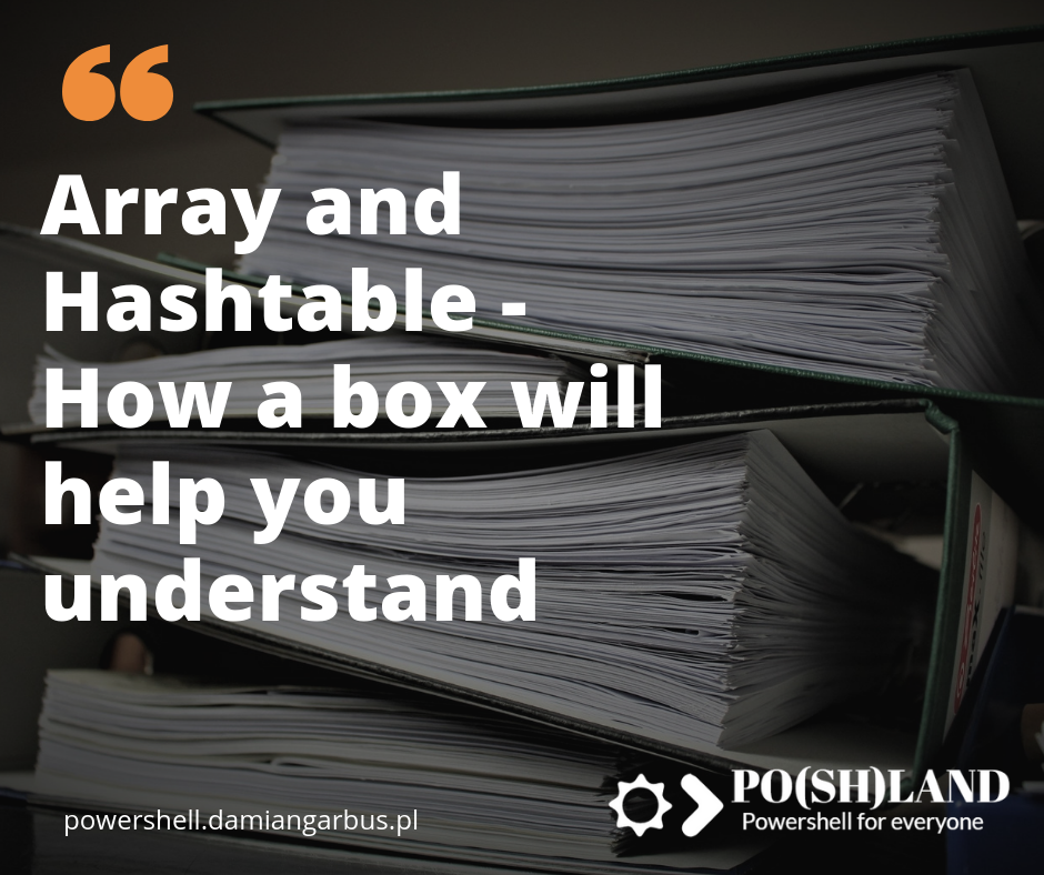 Array and Hashtable – How a box will help you understand