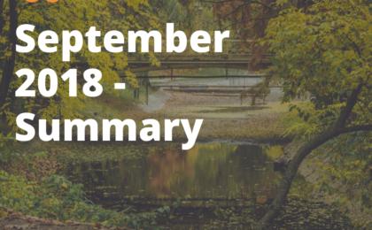 September 2018 - summary