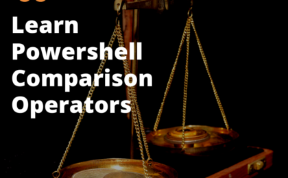 powershell comparison operators