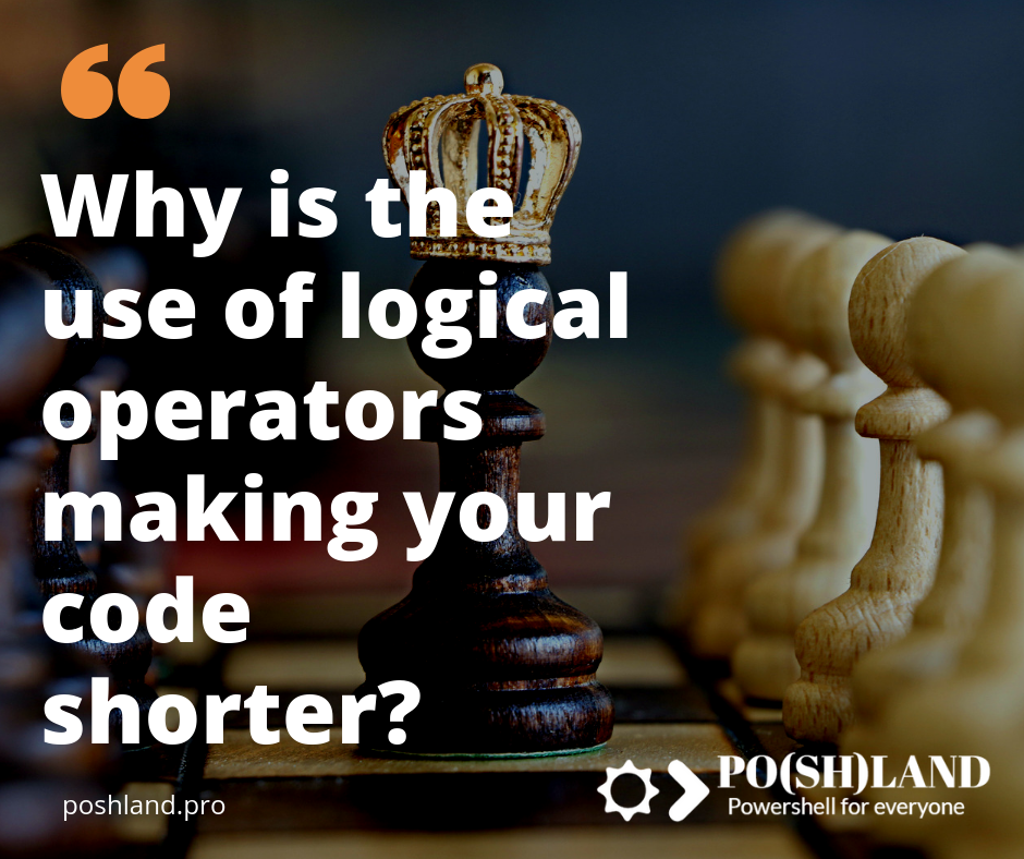Why Logical Operators will makes your code shorter?