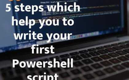 write powershell script