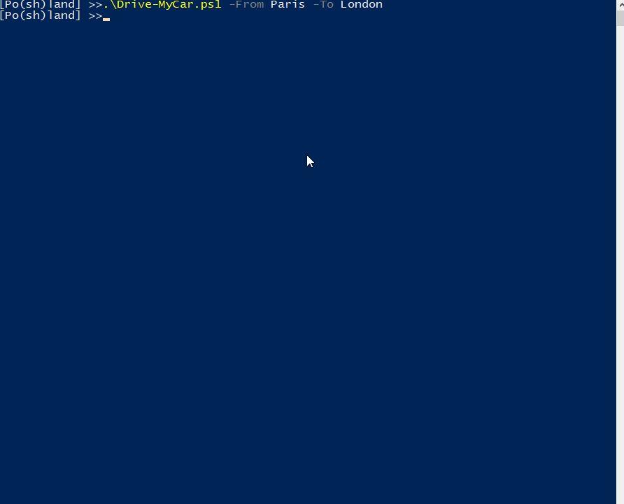 error handling in Powershell