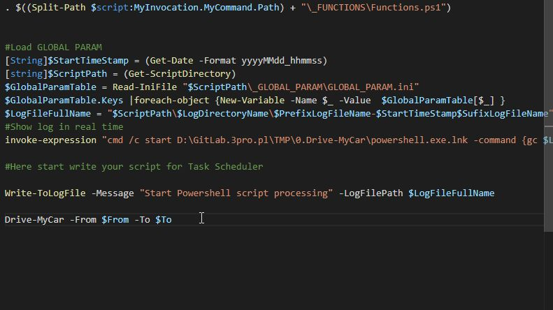 error handling in Powershell