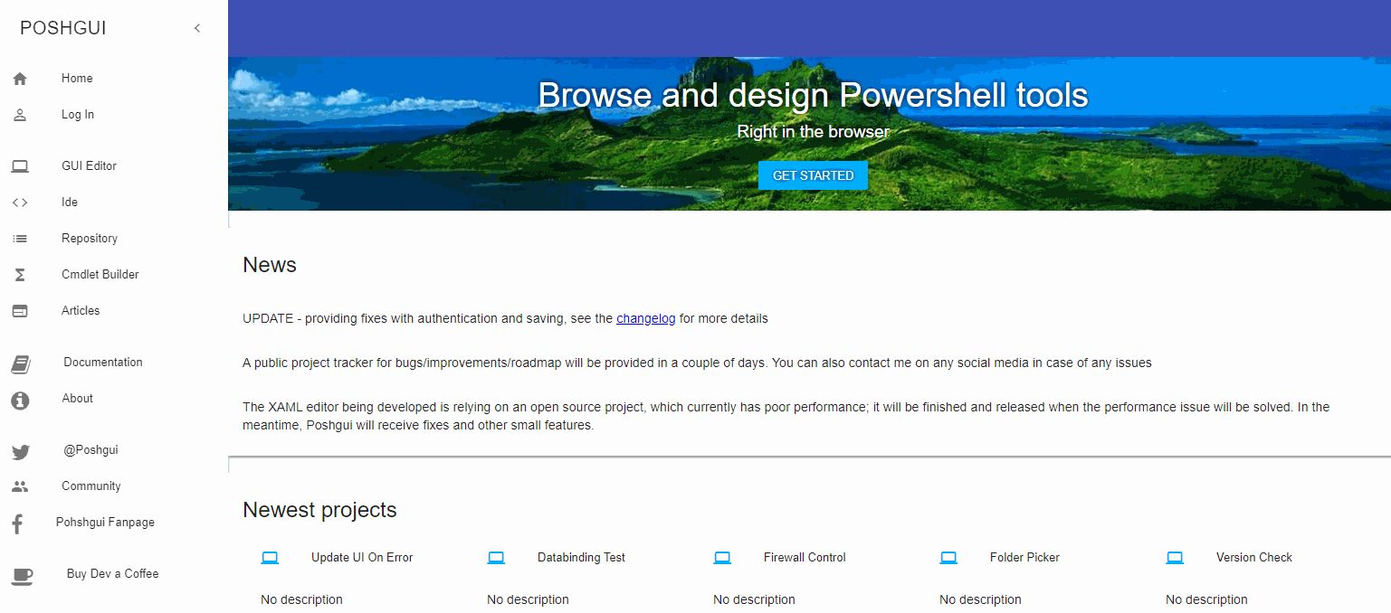 7 basics elements of a user interface for Powershell  | Poshland