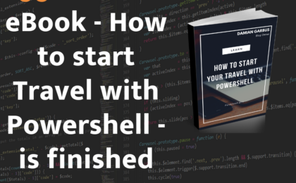 how to start your travel with Powershell