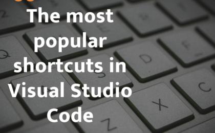 shortcuts in Visual Studio Code