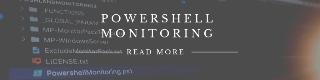 powershell monitoring