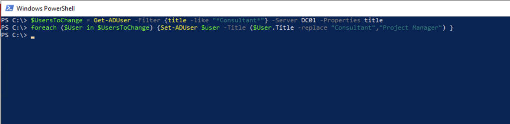 powershell replace